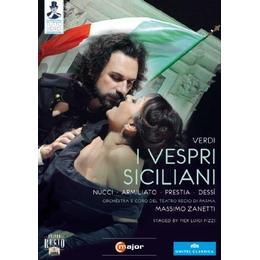 Verdi: I Vespri Siciliani [Parma 2010] [Nucci, Armiliato, Prestia, Dessíi] [C Major: 723808] [DVD] [NTSC]